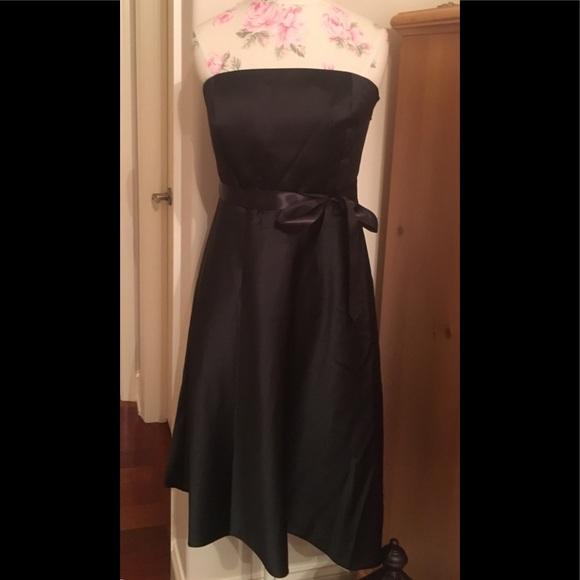 Classic Black Strapless Dress